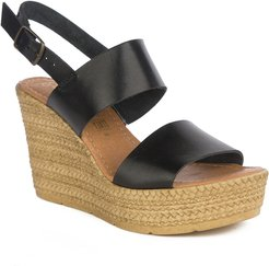 Seychelles Downtime Leather Wedge Sandal