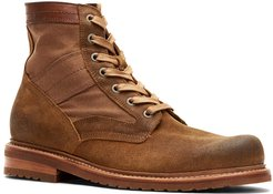 Frye Mayfield Lace-Up Suede Boot