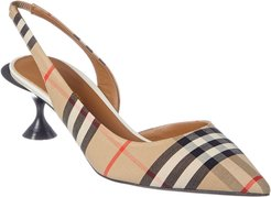 Burberry Vintage Check Slingback Pump