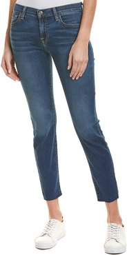 7 For All Mankind Roxanne Bright Bristol Ankle Cut