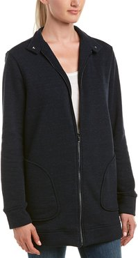 Three Dots Tri-blend Fleece Jacket