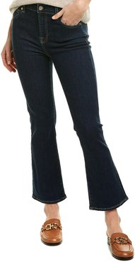 7 For All Mankind Fate Rinsed High-Rise Slim Kick Flare Leg