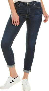 AG Jeans Prima 2 Years Aromatique Blue Roll-Up