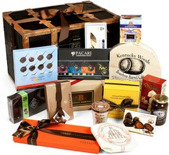 "igourmet ""Chocolate Treasures of the World"" 15pc Gift Trunk"