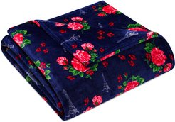 Betsey Johnson French Floral Ultra Plush Blanket