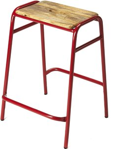Butler Dawson Red Counter Stool
