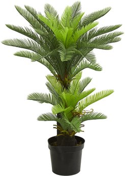 Nearly Natural 4.5ft Double Potted Cycas Artificial Tree