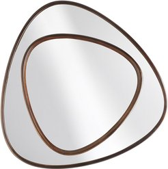 Nat Beech Wood 39in Wall Mirror