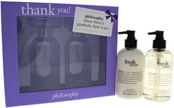 philosophy 8oz Thank You Hand Cream & Hand Lotion Set