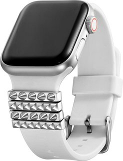Posh Tech Set of 4 Unisex Stainless Steel Watch Band Charms