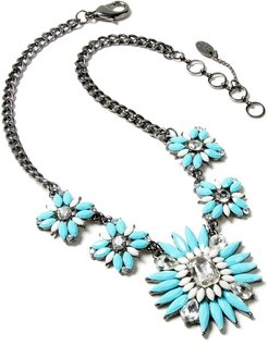 Crystal & Resin Statement Necklace