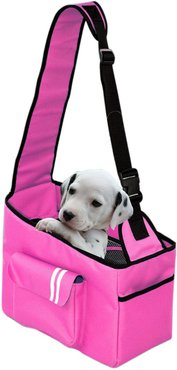 Pet Life Fashion Back-Supportive Over-The-Shoulder Pet Carrier