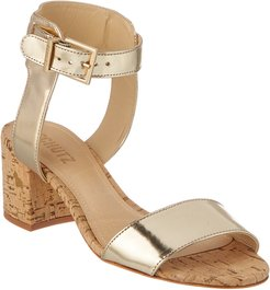 SCHUTZ Estelamaris Leather Sandal