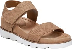 Franco Sarto India Leather Wedge Sandal