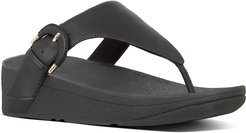 FitFlop Lottie Leather Thong Sandal