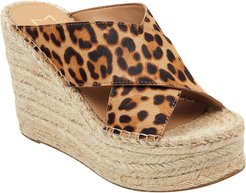 Marc Fisher LTD Adenly Haircalf Wedge Sandal