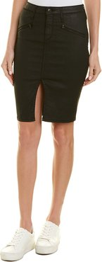 Black Orchid Pencil Skirt