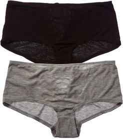 Honeydew Intimates 2pk Evie Ribbed Tie-Back Hipster
