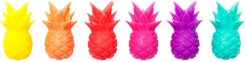 Sunnylife Set of 6 Pineapple Glass Markers