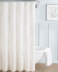 Laura Ashley Adelina Shower Curtain White