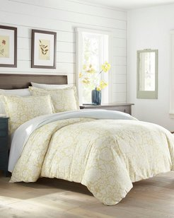 Stone Cottage Day Lilly Yellow Duvet Cover Set