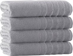 Enchante Home Set of 4 Veta Bath Towels