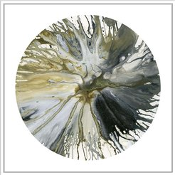 "Jonathan Bass Studio ""Spin Art 14"" Canvas Print"