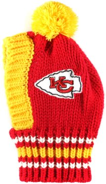 Hip Doggie Little Earth Productions Chiefs NFL Pet Knit Hat