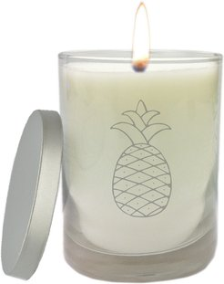 Carved Solutions' Personalized Just Flame Unscented Hand Poured Candle