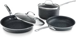 Granite Stone Diamond NonStick Mineral Enforced Coating 5pc Cookware Set