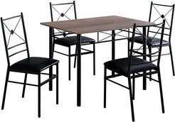 Monarch 5pc Dining Set