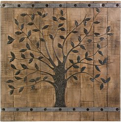 IMAX Tree of Life Wood Wall Panel