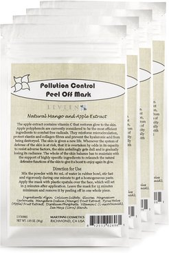Leveen Set of Four 1.05oz Pollution Control Peel Off Facial Masks