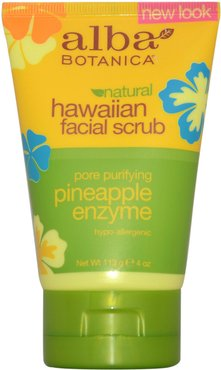 Alba Botanical 4oz Hawaiian Pineapple Enzyme Facial Scrub