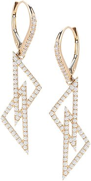 Designs Isabelle Brooke 14K 0.78 ct. tw. Diamond Drop Earrings