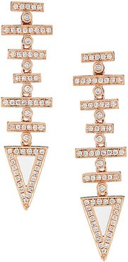 Designs JEB 14K Rose Gold 0.75 ct. tw. Diamond Earrings
