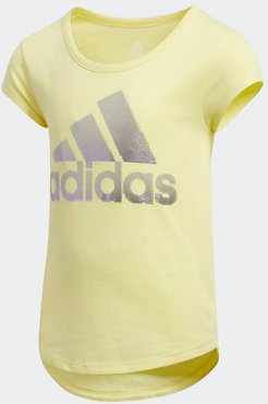 Scoop-Neck Tee Pearl Citrine 2T Kids