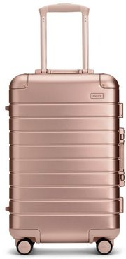 The Bigger Carry-On: Aluminum Edition in Rose Gold - No Battery