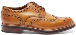 Archie Leather Brogues - Mens - Tan