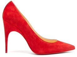 Alminette 100 Suede Pumps - Womens - Red