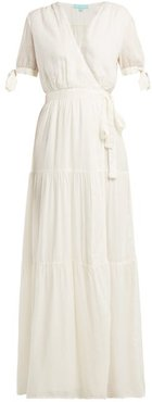 Emily Wrap Dress - Womens - Cream
