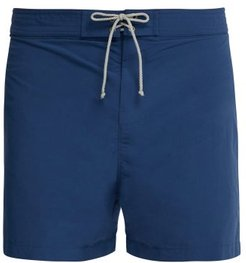 Drop Cord Swim Shorts - Mens - Mid Blue