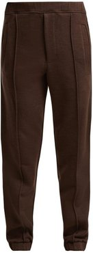 Logo-tape Track Pants - Womens - Brown