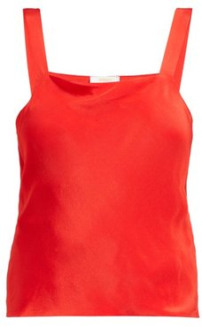 The Camisole Silk Top - Womens - Red