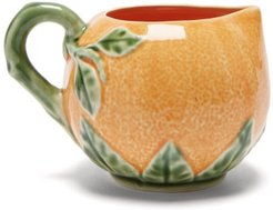 Orange Earthenware Jug - Orange