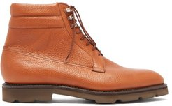 Alder Lace-up Leather Boots - Mens - Tan