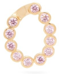 Crystal-embellished Charm - Womens - Pink