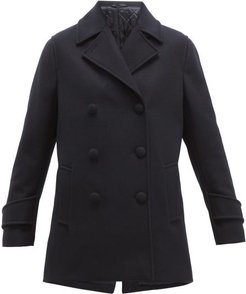 Eline Double-breasted Wool-blend Pea Coat - Womens - Navy
