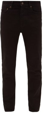 Sm001 Cotton-blend Slim-leg Jeans - Mens - Black