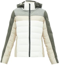 Cloud Quilted Down Ski Jacket - Womens - Beige